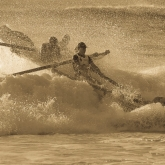 Wipe Out at Burleigh by Jenny Newby (AB Grade) MERIT