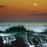 Currumbin Moom Rise by Glenda Robinson (AB Grade) MERIT
