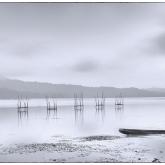 Fishing Village Lake by Karoly Nemeskeri (A Grade) - MERIT