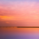 Sunset At The Pier by Trish Rennie (A Grade) MERIT