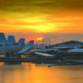 Singapore Sunrise by Greg McMillan (AB Grade) - MERIT