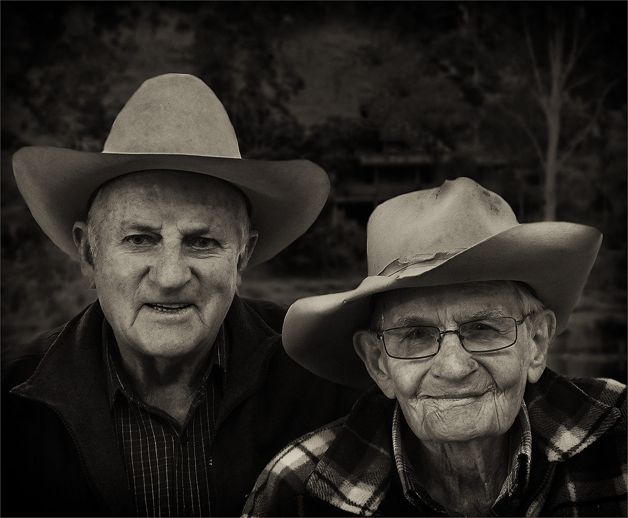 Two old friends by Carol Robinson (A Grade) - HONOUR