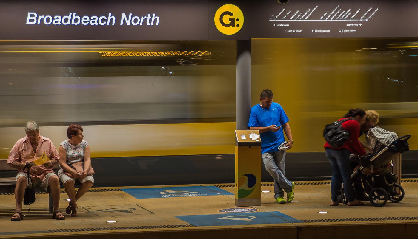 Broadbeach North Station </br>by Kathlyn Tedder </br>(A Grade) HONOUR